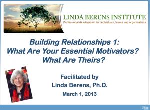 Building Relationships 1